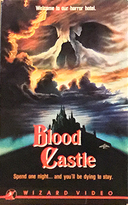 Blood Castle VHS tape